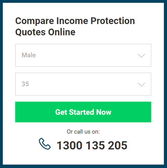 Step 1 income protection quote comparison